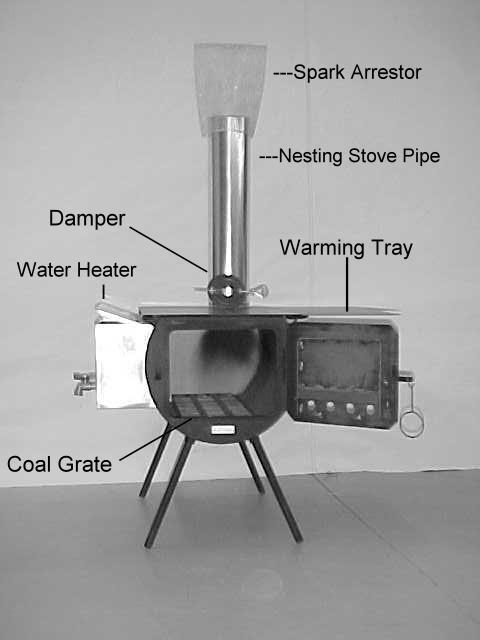 Wood Burning Camp Stove