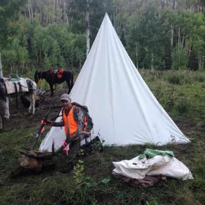 Single Pole Tent & Herder Tent / Spike Tent - Davis Tent
