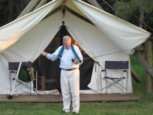 Glamping   Davis Tent & Awning