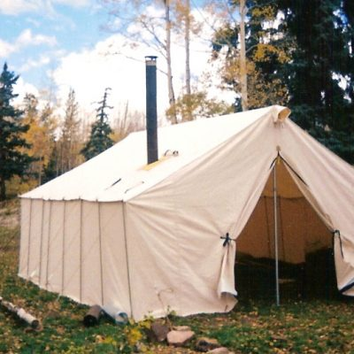 Antelope C& Tent Package & Canvas Wall Tent - Winter Tents - Davis Tent u0026 Awning