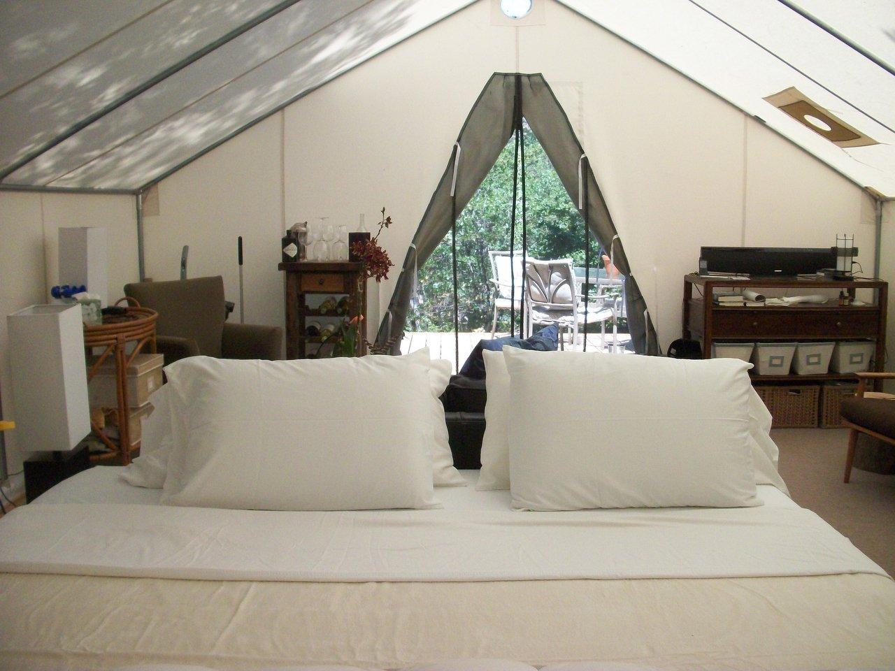 Glamping Davis Tent Amp Awning