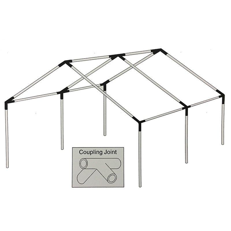 Complete 3 Column Internal Frame Davis Tent