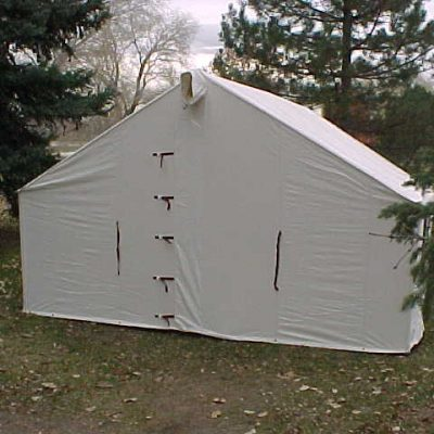 Canvas Wall Tents & Canvas Tents - Wall Tent - Davis Tent u0026 Awning