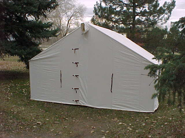 canvas wall tent winter tents davis tent awning