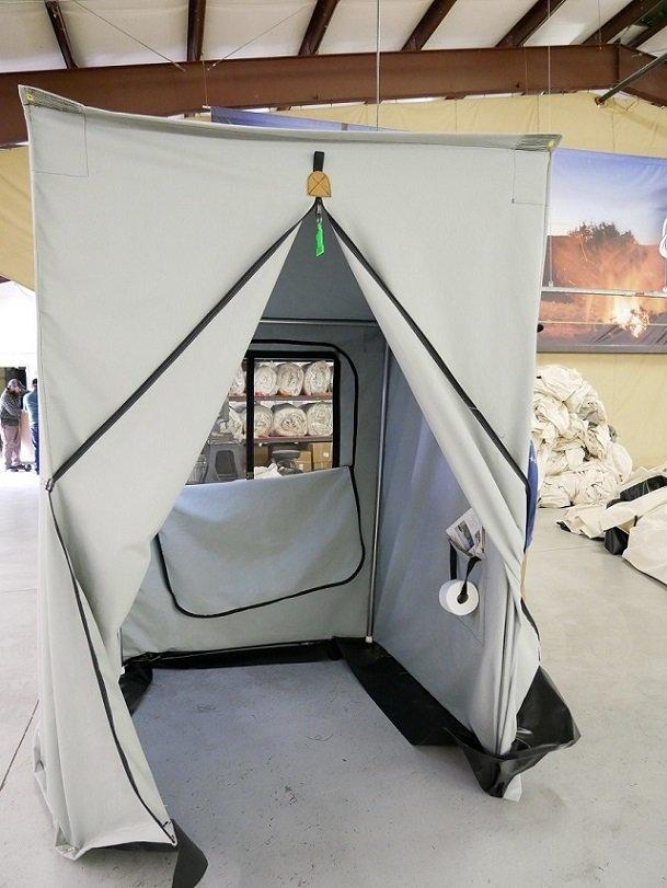 The Royal Throne Shower Potty Tent Davis Tent