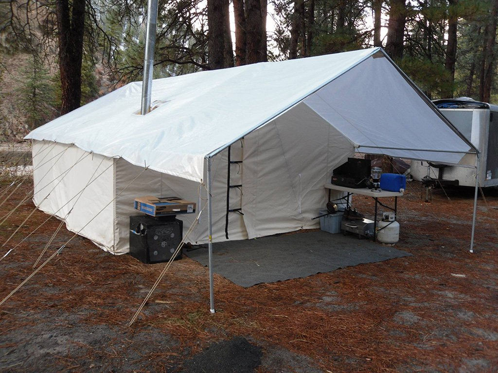 Canvas Tents For Sale Outfitter Tents Davis Tent Awning