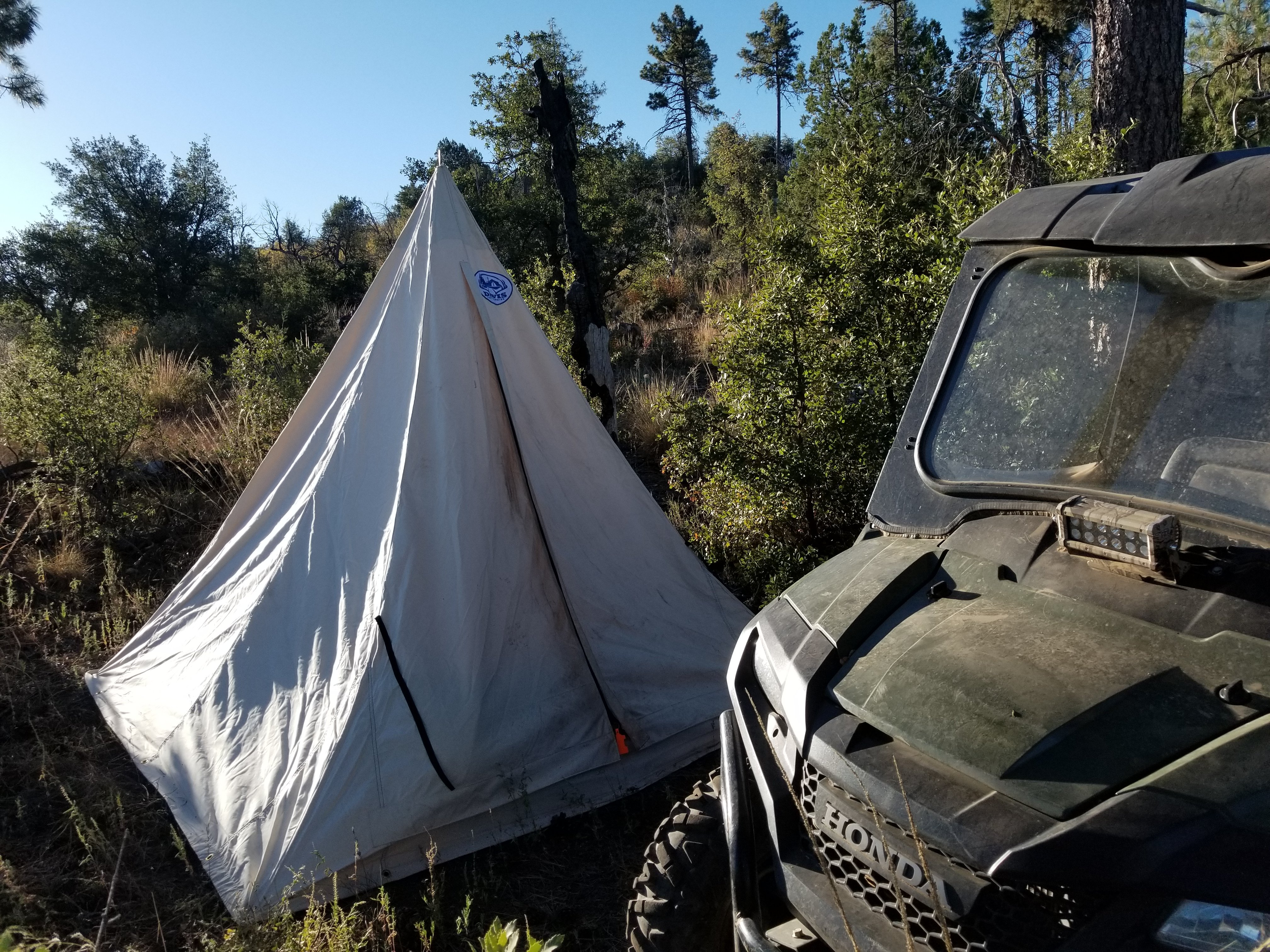 5 out of 5 Makes spike c&s a cinch! & Single Pole Tent - Davis Tent