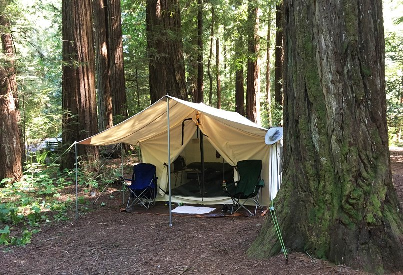 ... tent during the summer and toasty warm with the stove going during the winter. Heat wind rain snow no leaks no condensation and not one problem. & Canvas Wall Tent - Winter Tents - Davis Tent u0026 Awning