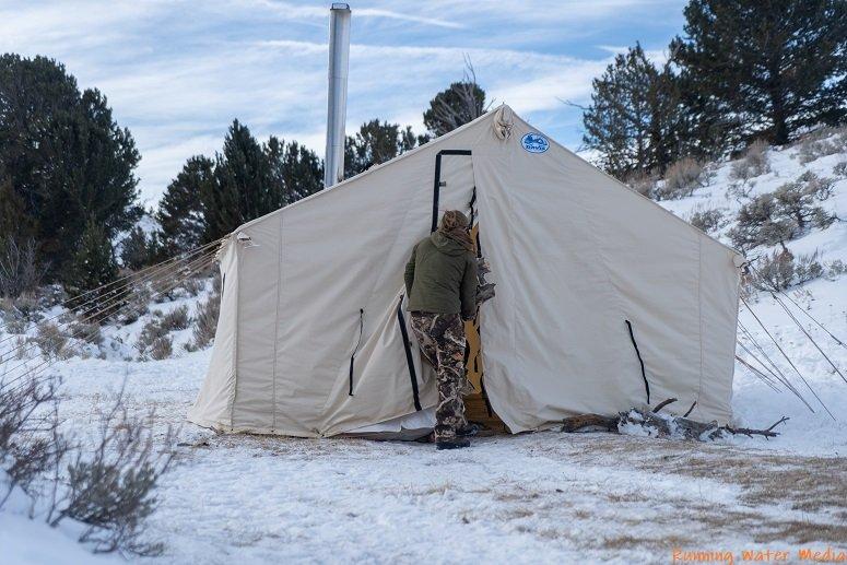 10 X 12 Canvas Tent Davis Tent